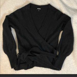 Express Wrap sweater